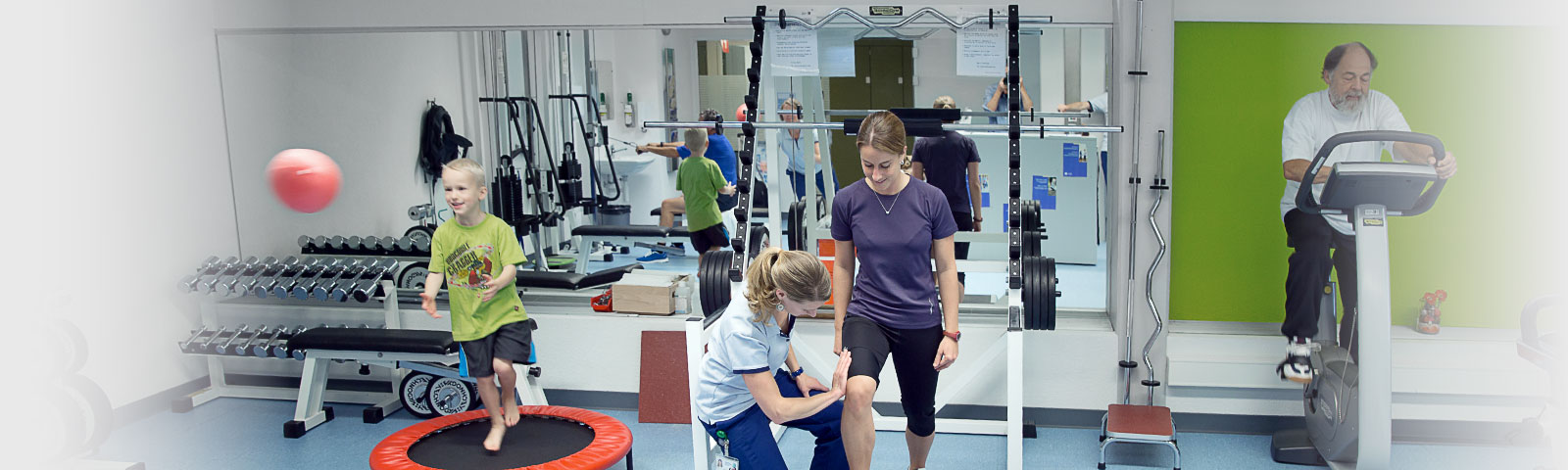 Physiotherapie im SZB